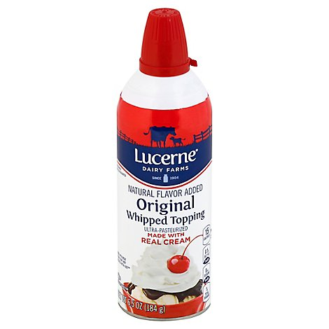 Lucerne Whipped Topping Original - 6.5 Oz
