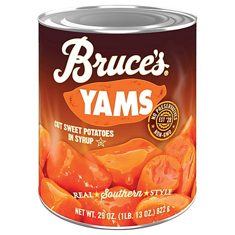 Bruces Yams in Syrup - 29 Oz