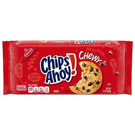 Chips Ahoy! Cookies Chocolate Chip Chewy - 13 Oz