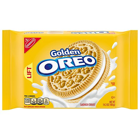 OREO Cookies Sandwich Golden - 14.3 Oz