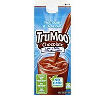 TruMoo Milk Chocolate Milk Lowfat 1% - 1 Half Gallon