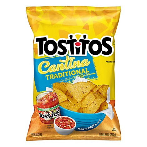 TOSTITOS Tortilla Chips Cantina Traditional Bag - 12 Oz