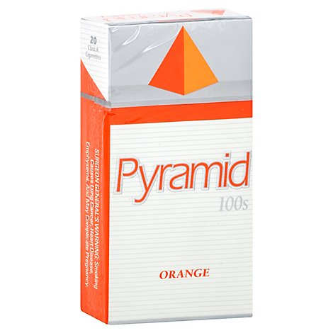 Pyramid Cigarettes Orange 100s Box - Pack