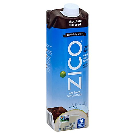 ZICO Coconut Water Beverage Chocolate Flavored - 33.8 Fl. Oz.