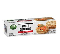 Open Nature Crackers Water Sesame - 4.4 Oz