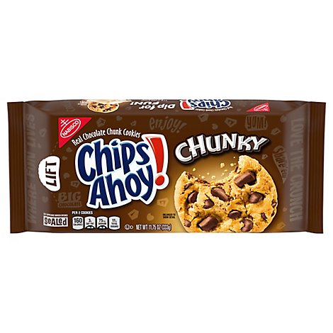 Chips Ahoy! Chunky Cookies Chocolate Chunk - 11.75 Oz