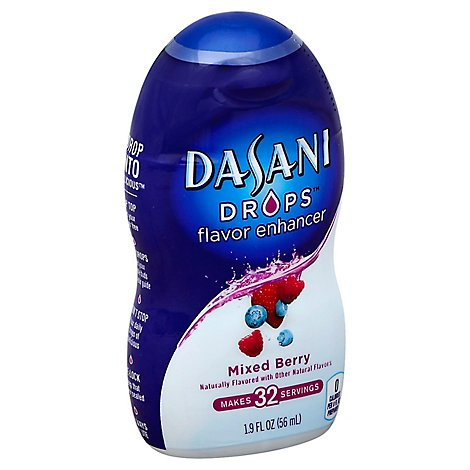 Dasani Drops Water Enhancer Mixed Berry - 1.9 Fl. Oz.