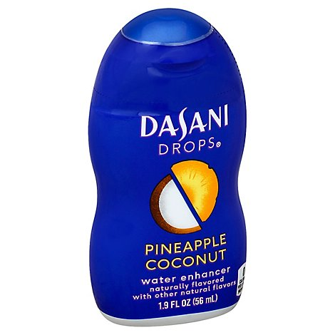 DASANI Drops Water Enhancer Pineapple Coconut - 1.9 Fl. Oz.