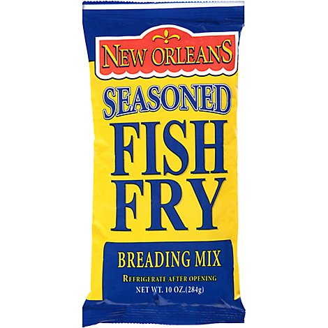Zatarains Seasoned Fish Fri Breading Mix - 10 Oz