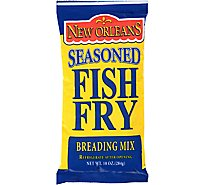 Zatarains New Orleans Style Breading Mix Seasoned Fish Fry - 10 oz