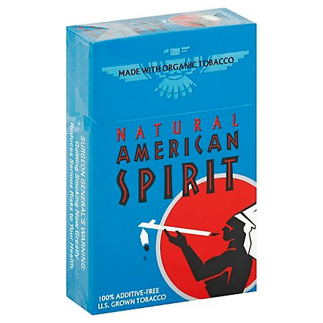 American Spirit Cigarettes Red King Box FSC - Pack