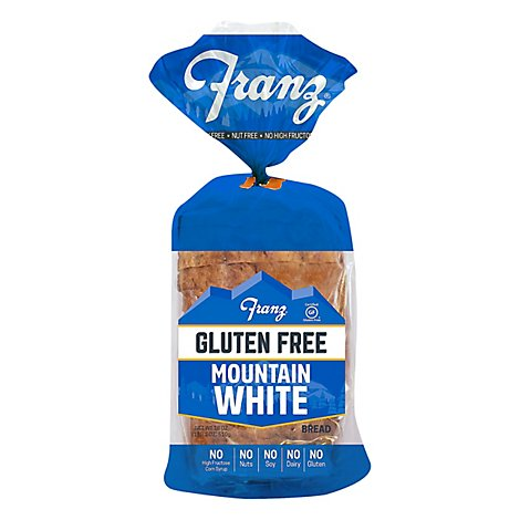 Franz Sandwhich Bread Gluten Free Mountain White - 18 Oz