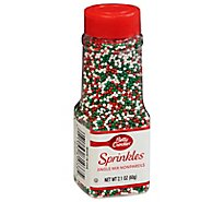 Betty Crocker Decorating Decors Jingle Mix - 2.1 Oz