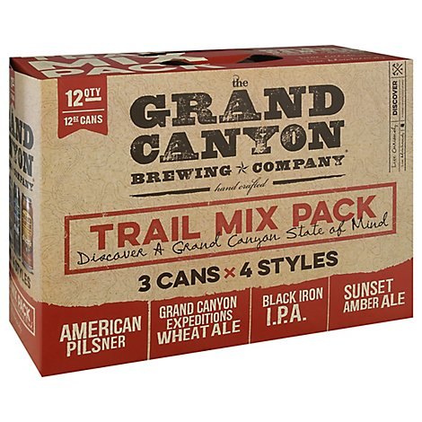 Grand Canyon Trail Mix In Cans - 12-12 Fl. Oz.