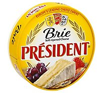 President Cheese Brie Soft Ripened - 16 Oz