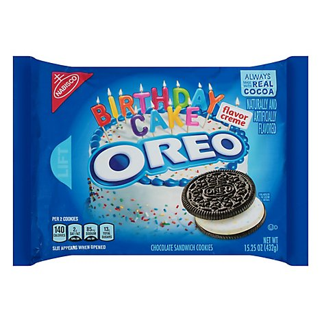 Wondrous Oreo Cookies Sandwich Chocol Online Groceries Tom Thumb Birthday Cards Printable Benkemecafe Filternl