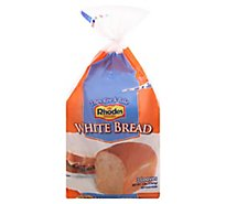 Rhodes Bread White 3 Count - 48 Oz