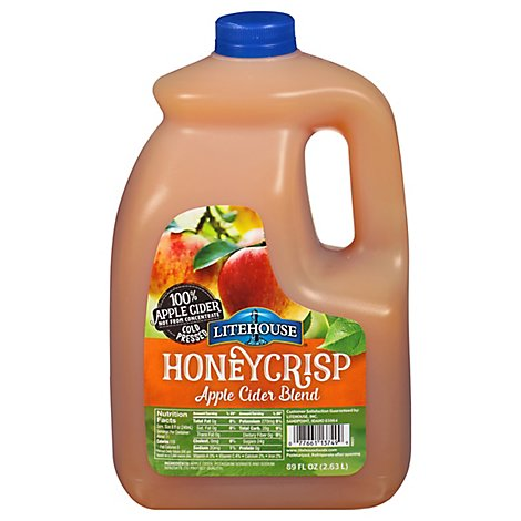 Litehouse Cider Honey Crisp Shelf Stable - 89 Fl. Oz.