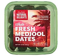 Bard Valley Natural Delights Dates Medjool - 12 Oz