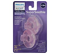 Avent Pacifier Soothie 3 Month Plus - 2 Count