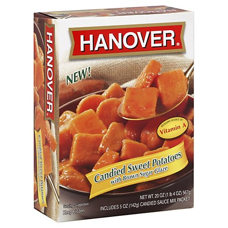 Hanover Potatoes Sweet Candied With Brown Sugar Glaze - 20 Oz