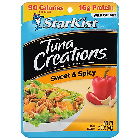 StarKist Tuna Creations Tuna Chunk Light Sweet & Spicy - 2.6 Oz