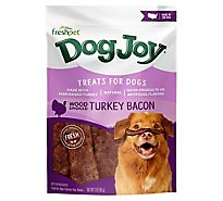 Freshpet Dog Joy Dog Treats Natural Turkey Bacon Pouch - 3 Oz