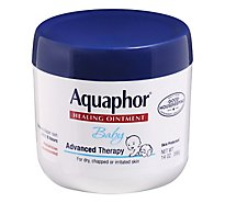 Aquaphor Baby Healing Ointment Advanced Therapy Skin Protectant - 14 Oz
