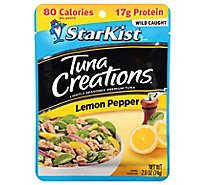 StarKist Tuna Creations Tuna Chunk Light Lemon Pepper - 2.6 Oz