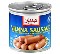 Libbys Vienna Sausage Blue Can - 4.6 Oz