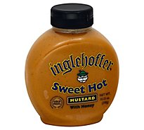 Inglehoffer Mustard Sweet Hot with Honey - 10.25 Oz