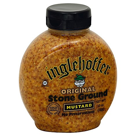 Inglehoffer Mustard Stone Ground Original - 10 Oz
