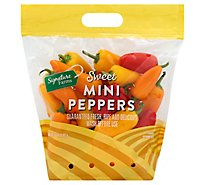 Signature Farms Sweet Mini Peppers - 32 Oz