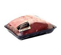 Open Nature Beef Grass Fed Angus Loin Top Loin Roast Boneless Grass Fed - 1.50 LB