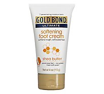 GOLD BOND Ultimate Foot Cream Softening Shea Butter - 4 Oz