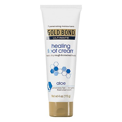 GOLD BOND Ultimate Cream Foot Healing Aloe - 4 Oz