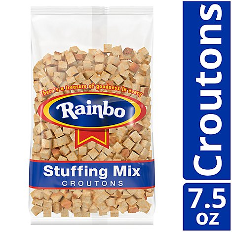 Rainbo Stuffing Mix Croutons - 7.5 Oz