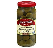 Mezzetta Olives Green Whole Italian Castelvetrano - 10 Oz