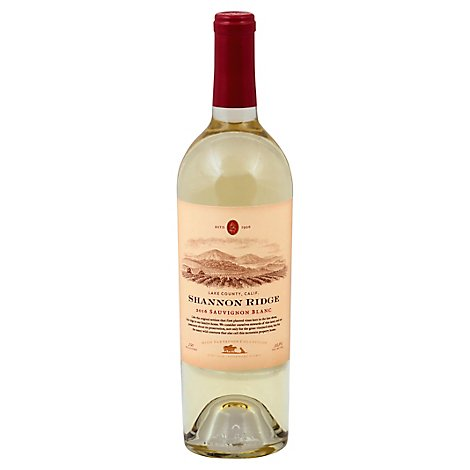 Shannon Ridge Wine Sauvignon Blanc Lake County California - 750 Ml
