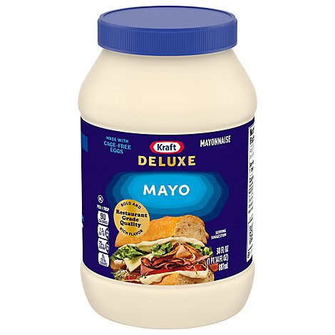 Kraft Real Mayo Homestyle - 30 Fl. Oz.