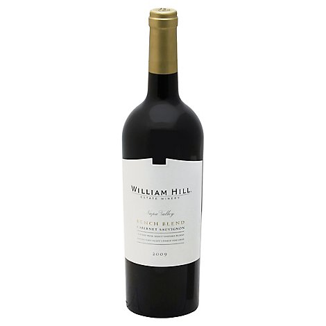 William Hill Bench Blend Cabernet Sauvignon Wine - 750 Ml