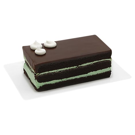 Bakery Cake Bar Chocolate Mint - Each