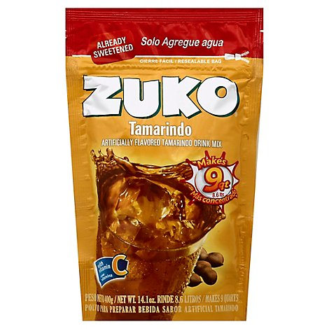 Zuko Drink Mix Tamarind - 14.1 Oz