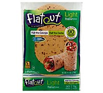 Flatout Flatbread Italian Herb Light - 11.2 Oz