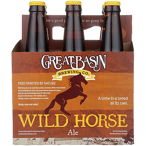 Great Basin Wild Horse Ale In Bottles - 6-12 Fl. Oz.
