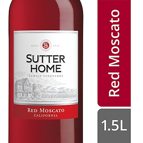 Sutter Home Red Moscato Wine - 1.5 Liter