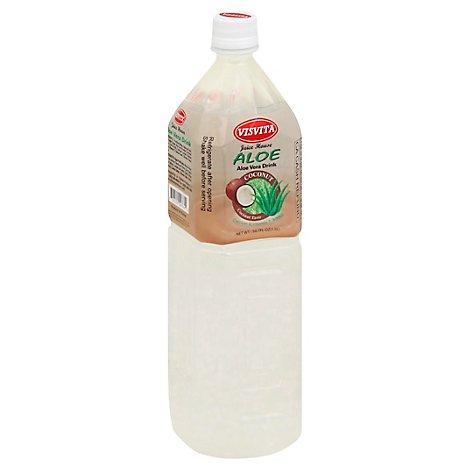 Visvita Juice House Aloe Vera Drink Coconut - 50.7 Fl. Oz.