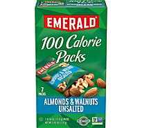 Emerald 100 Calorie Packs Walnuts & Almonds - 7-0.56 Oz