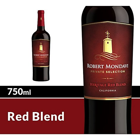 Robert Mondavi Private Selection Heritage Red Wine - 750 Ml