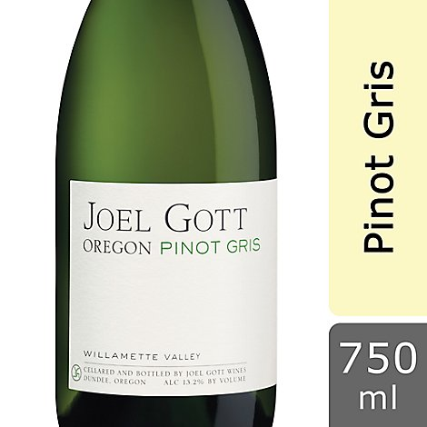 Joel Gott Wine Pinot Gris Oregon - 750 Ml